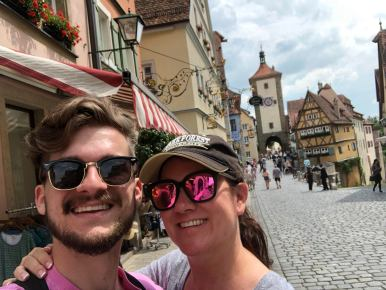 Gray & Mom Rothenburg
