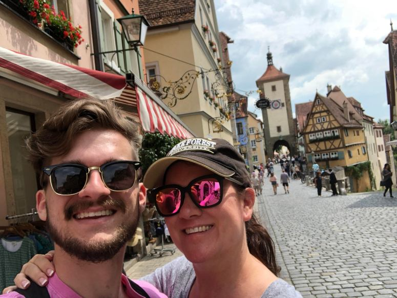 Gray & Mom Rothenburg