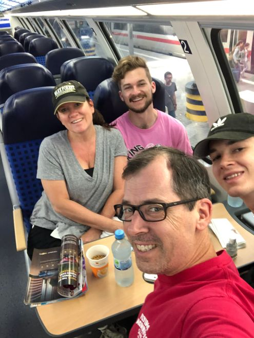 Train to Rothenburg